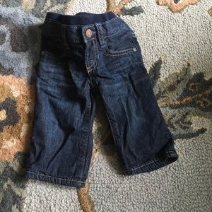 Baby Gap Boys lightly lined jeans size 3-6 Months